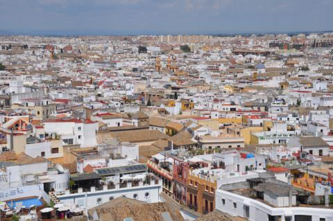 Sevilla seen from the top