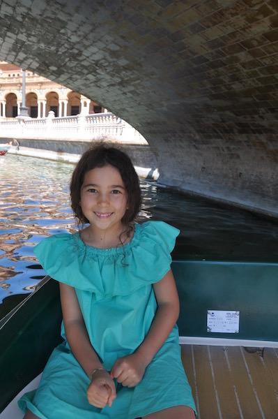 boat ride in Sevilla