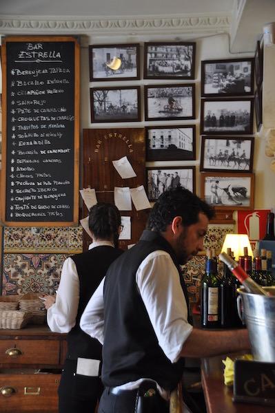 Bar Estrella in Sevilla