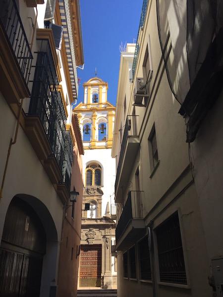 A church in Sevilla