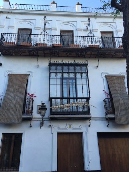 A pretty house in Santa Cruz, Sevilla