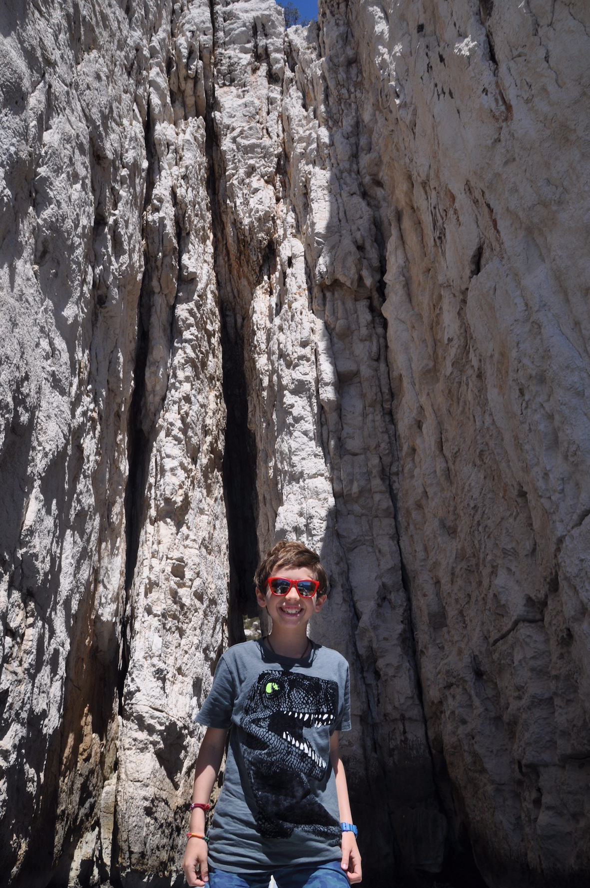 Marcelo in les calanques