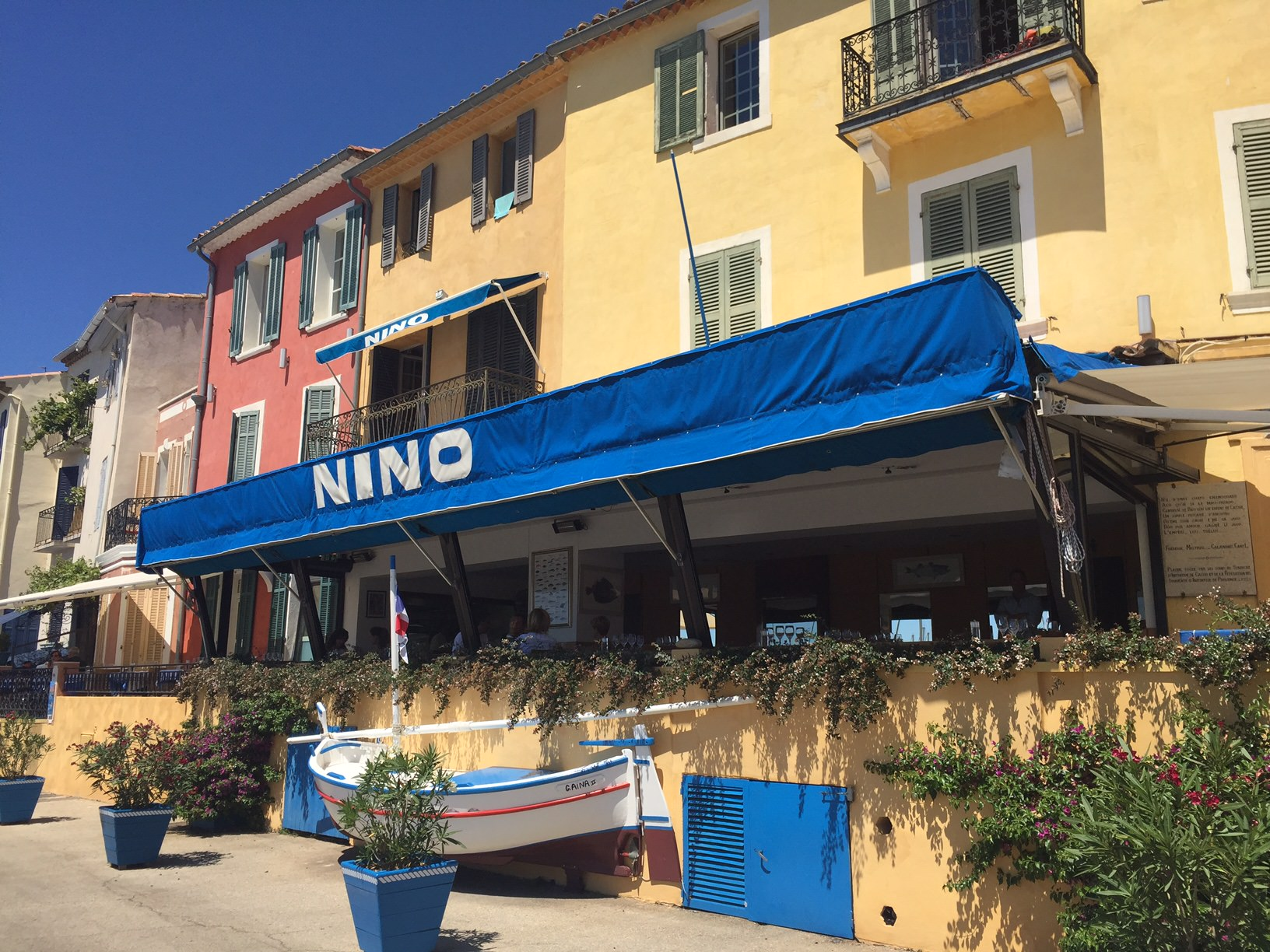 Chez Nino in Cassis