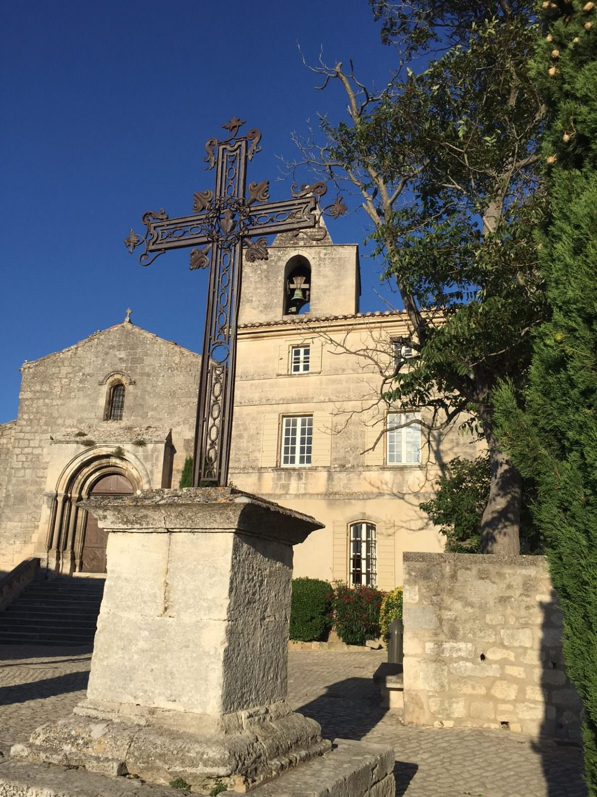 Baux de Provence church