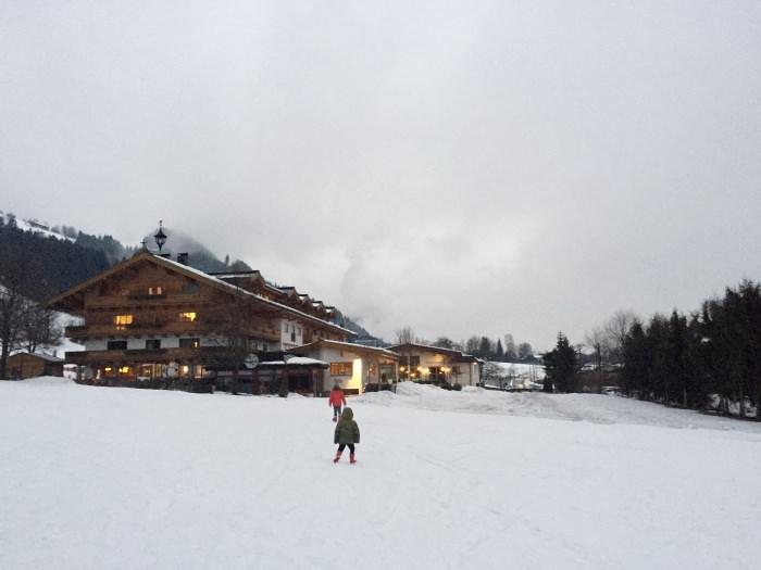 Kitzbuhel, Austria Winter 2017