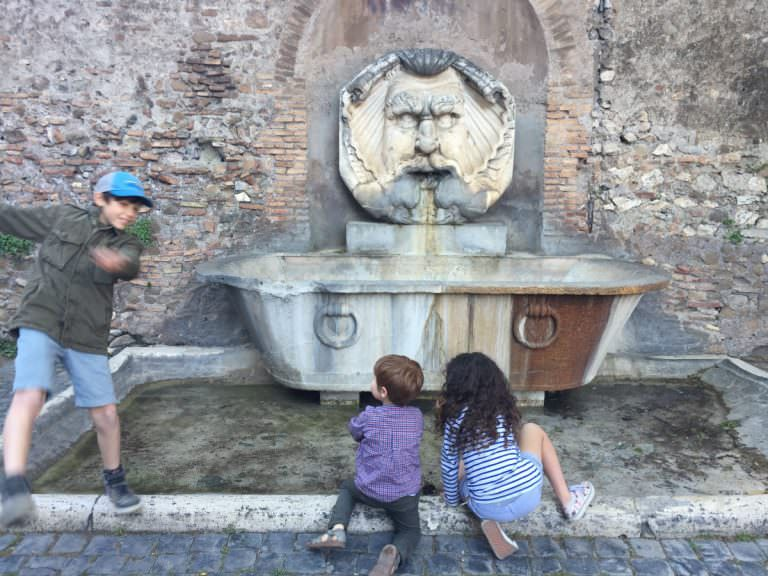 a Roman history crash course in situ: Rome, Italy