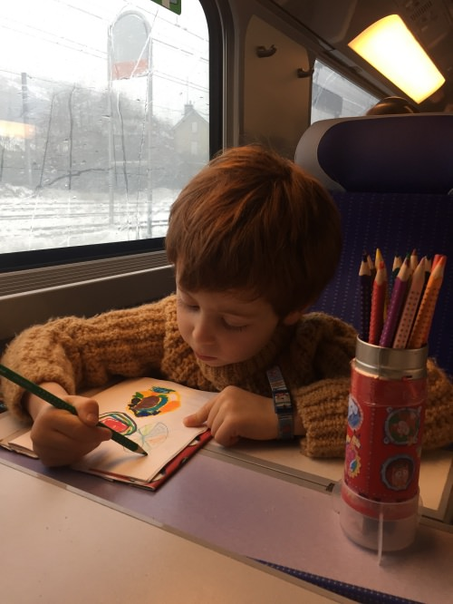 train activity for kids