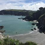 View from Coastal Path, North Devon