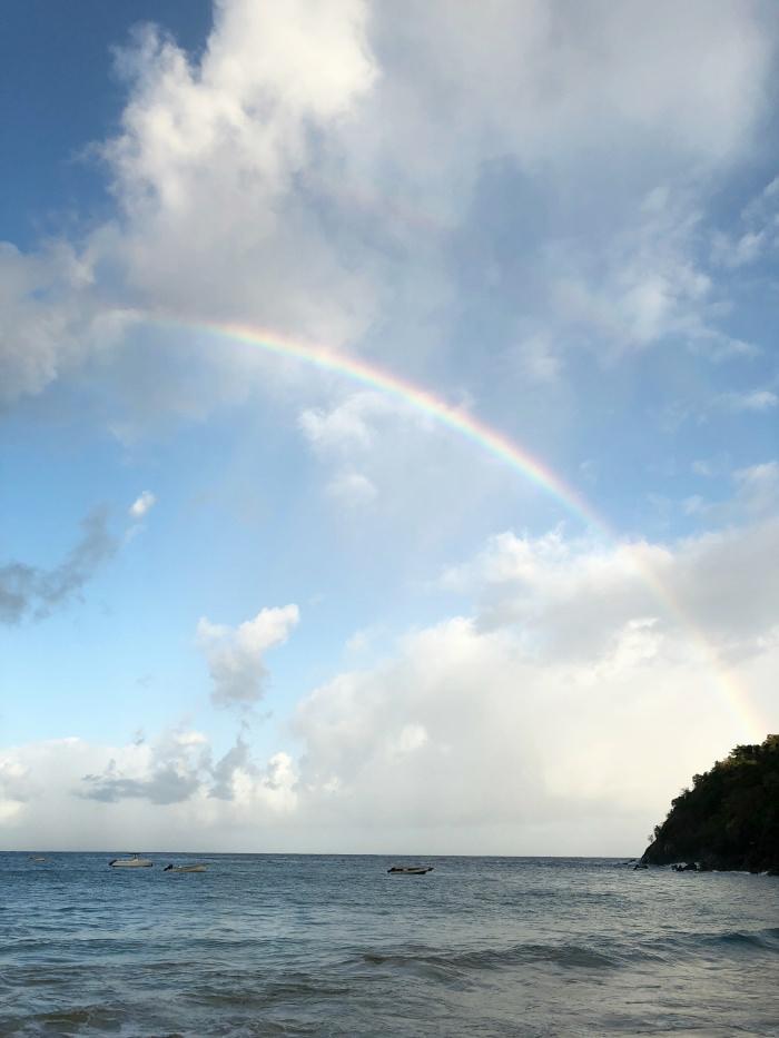 full rainbow in Tobago