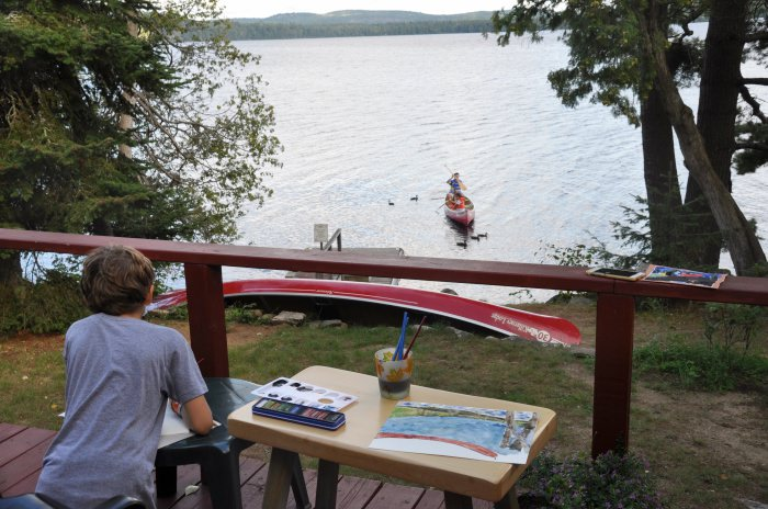 activities at Killarney Lodge in Ontario, Canada