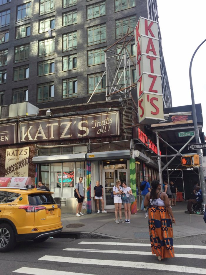legendary Kat'z deli in lower east side manhattan