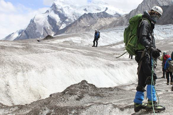 Himalaya trekking with British Exploring for young adventurers
