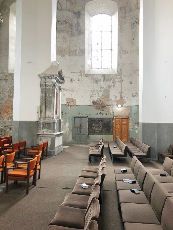 inside a church in Vilnius, Lithuania: history charm and culture