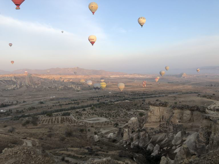 Over the moon in Cappadocia