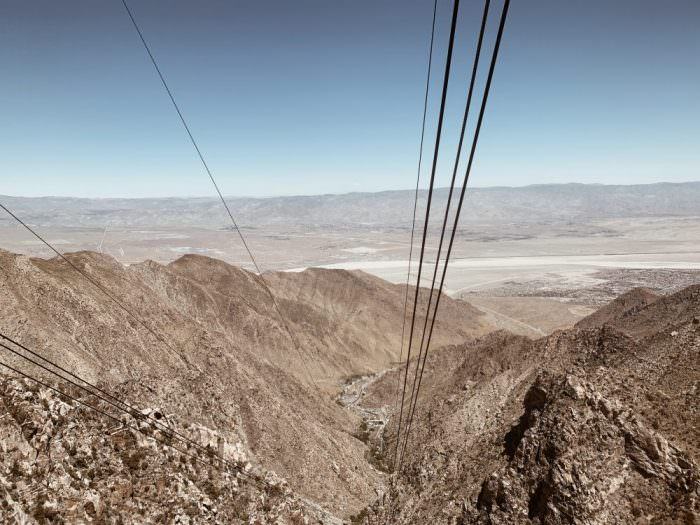 desert, california, wires