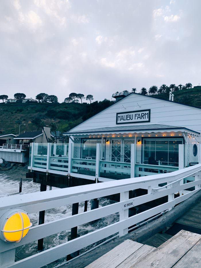 Malibu farm, dock, ocean