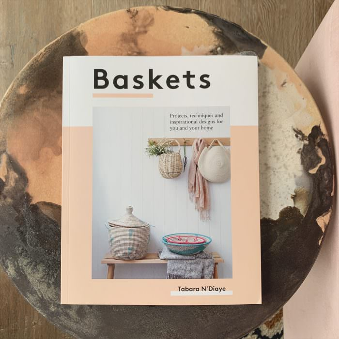 Book, baskets, reading