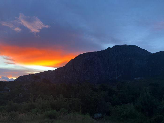 Malawi sunrise, Africa
