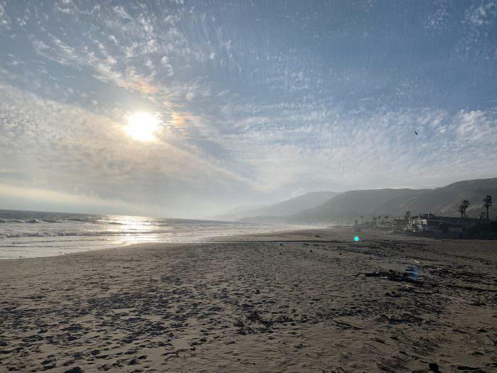 ocean, beach, California, sand, sun, Zuma beach, Malibu