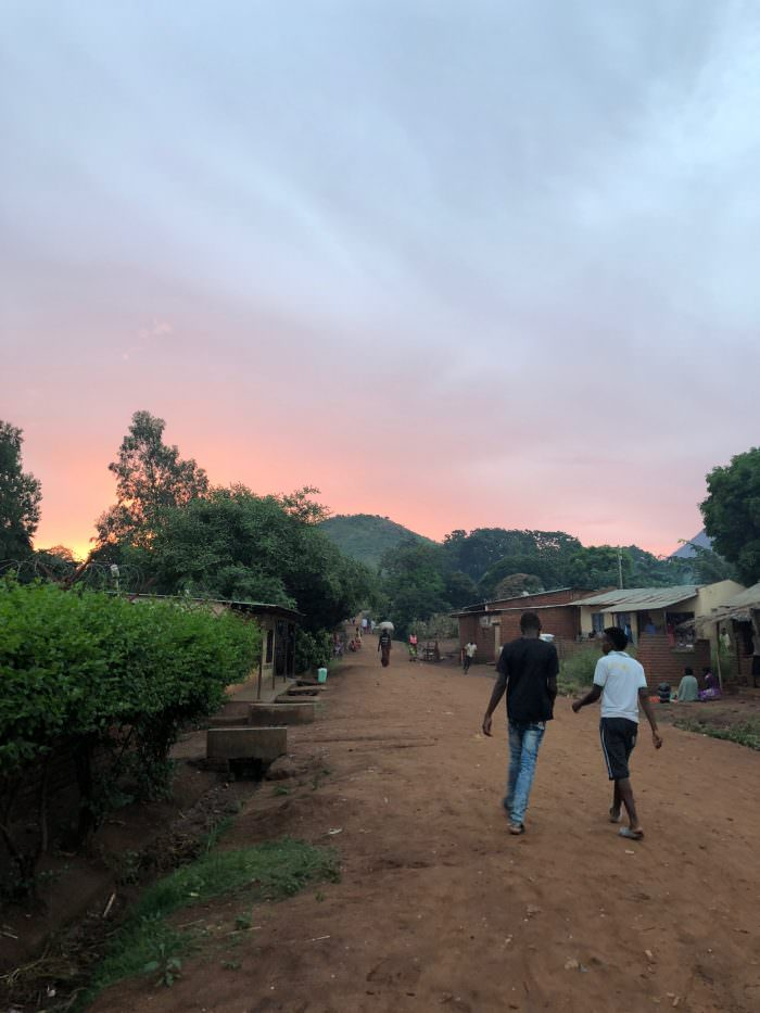 Zomba plateau, village life, Africa