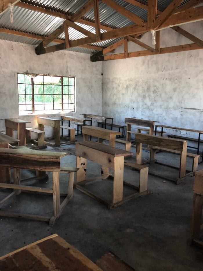classroom, Malawi, Africa