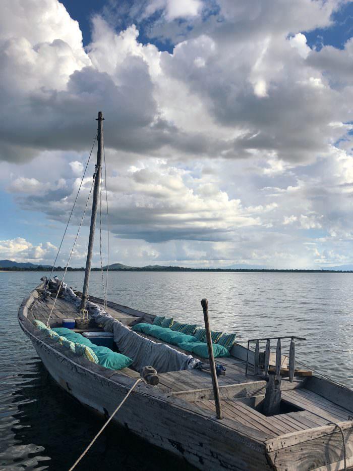 boat, water, sailing, Lake Malawi, Malawi, Africa