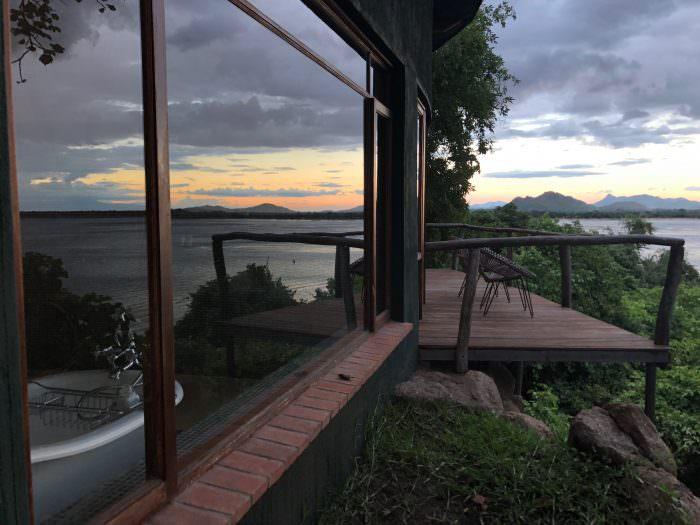 lodgings, hotel, Lake Malawi, Malawi, Africa