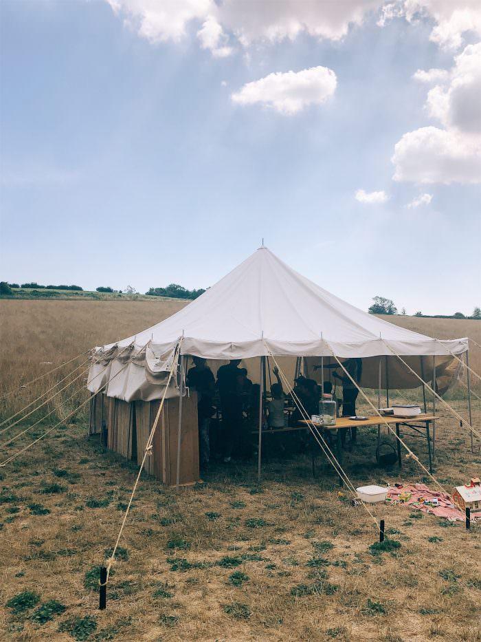 summer camp, kent, food, tents
