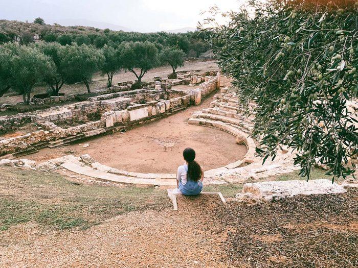 ancient city of Aptera Crete BozAround