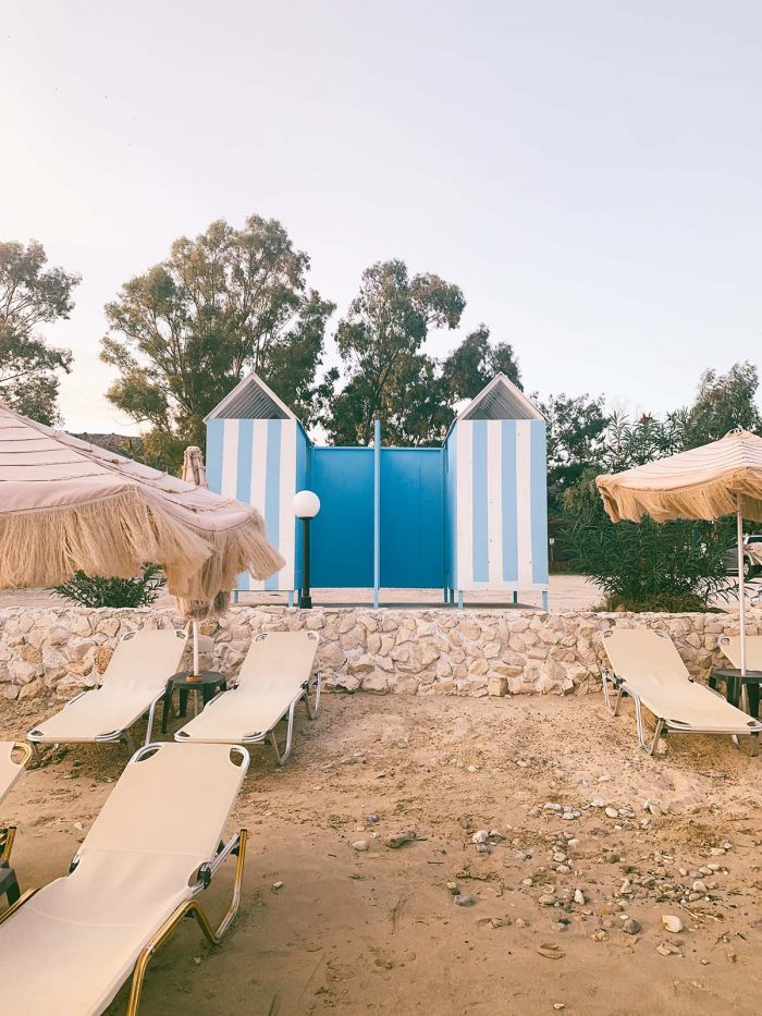 Maritha Beach Crete, sand