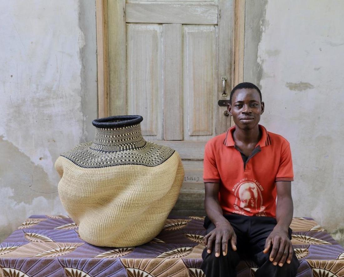 Babatre, Ghana, weaving, giving back, soulful gifts, BozAround